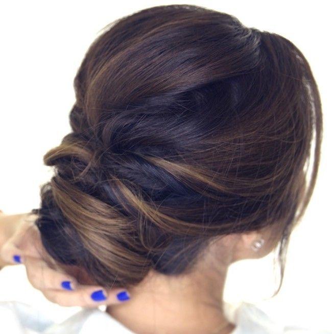 5-Minute Romantic Updo Tutorial | Easy Elegant Hairstyles