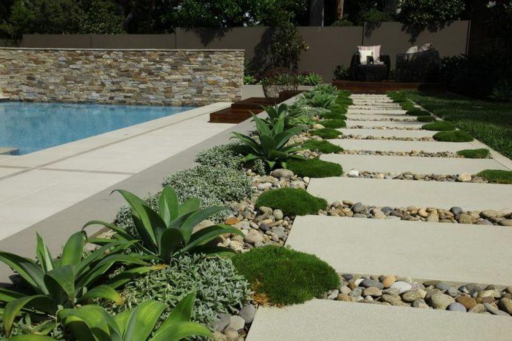 50 Moderne Gartengestaltung Ideen: Moderne Gartengestaltung Steingarten In 2020
