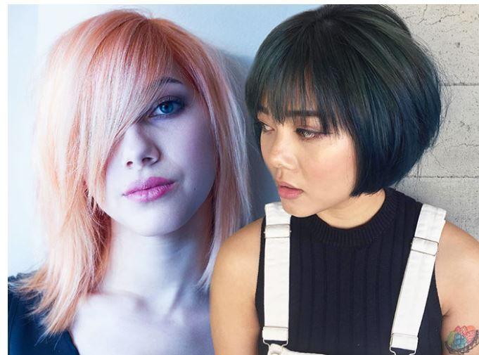 Kahküllü Kısa Bob Saç Renkleri ve Saç Modelleri
