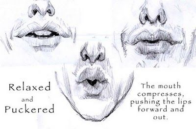the art of iain mccaig: Drawing Expressions