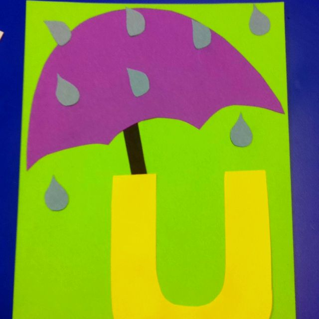 U is for umbrella!