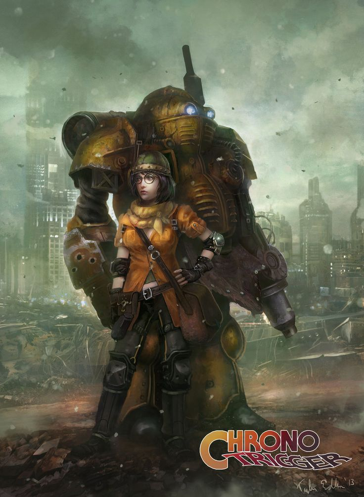 Lucca and Robo by TylerEdlinArt on deviantART