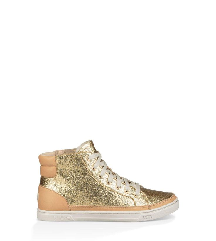 <h5>Available exclusively on UGG.COM and in UGG stores.</h5>Add a sparkling statement to any look with this high-shine sneaker.