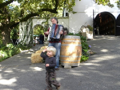 Music at Kloovenburg, appeals to all ages.