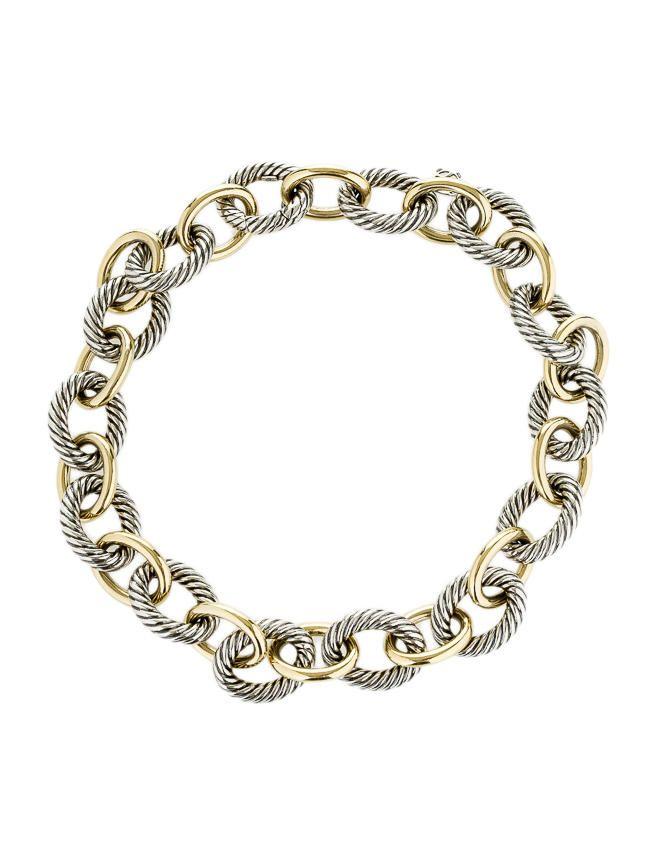 David Yurman Renaissance Cable cuff bracelet - Metallic AWigEClOYR