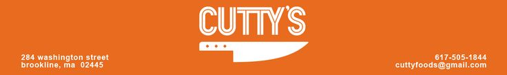 Cutty's- Bagels ONLY available Fridays & Saturdays 284 Washington St. Brookline Village