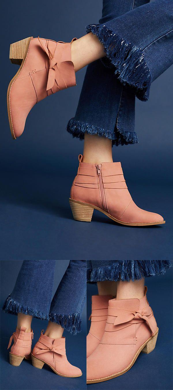 Kelsi Dagger Brooklyn Kingston Tied Booties  #fashion #shoes #style