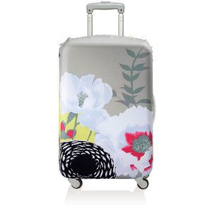 Luggage Cover Prima Dahlia, $23, now featured on Fab.