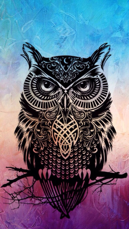 Owl Art Wallpaper | www.imgkid.com - The Image Kid Has It!