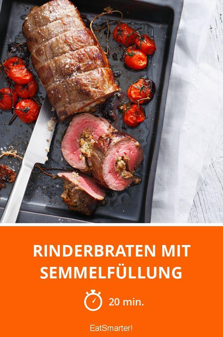 Rinderbraten mit Semmelfüllung | http://eatsmarter.de/rezepte/rinderbraten-mit-semmelfullung