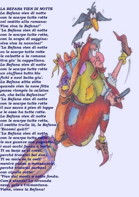 La Befana Poem