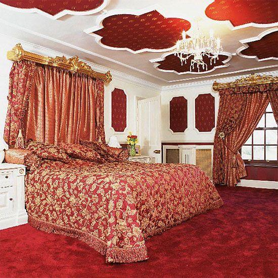 Спальня в стиле барокко фото   СТИЛЬ БАРОККО
