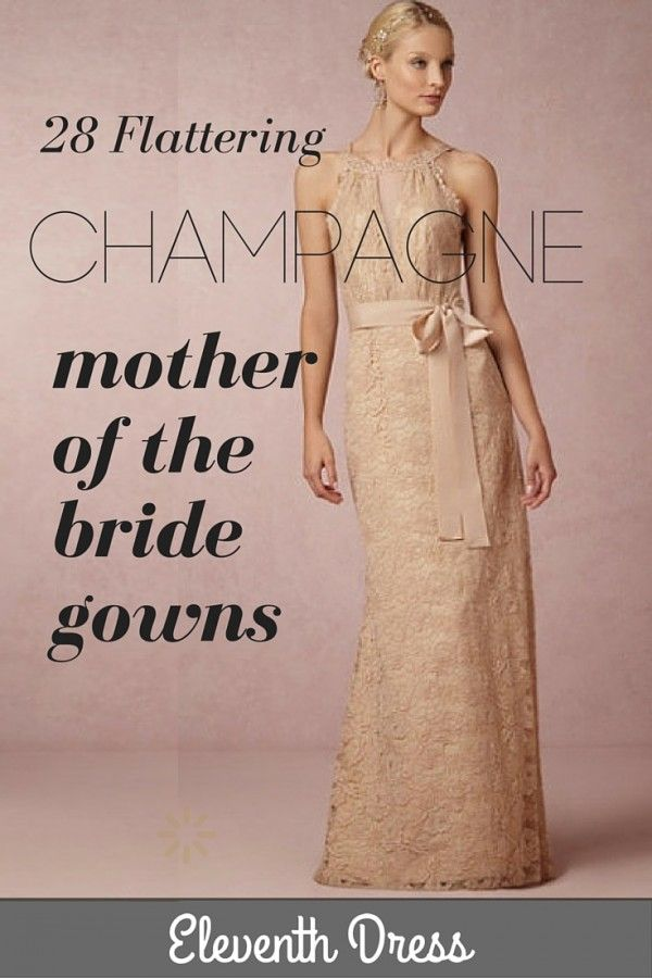 champagne mother of bride dresses