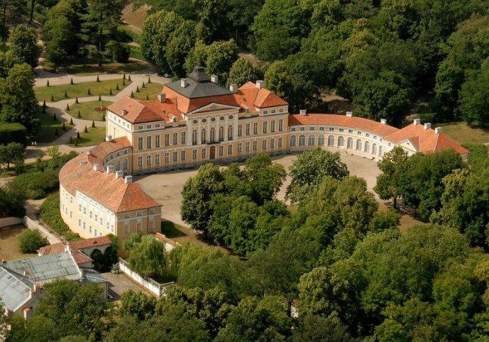 Palace of counts Raczyński in Rogalin