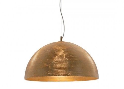 Κρεμαστό φωτιστικό με φύλλα χρυσού Φ50