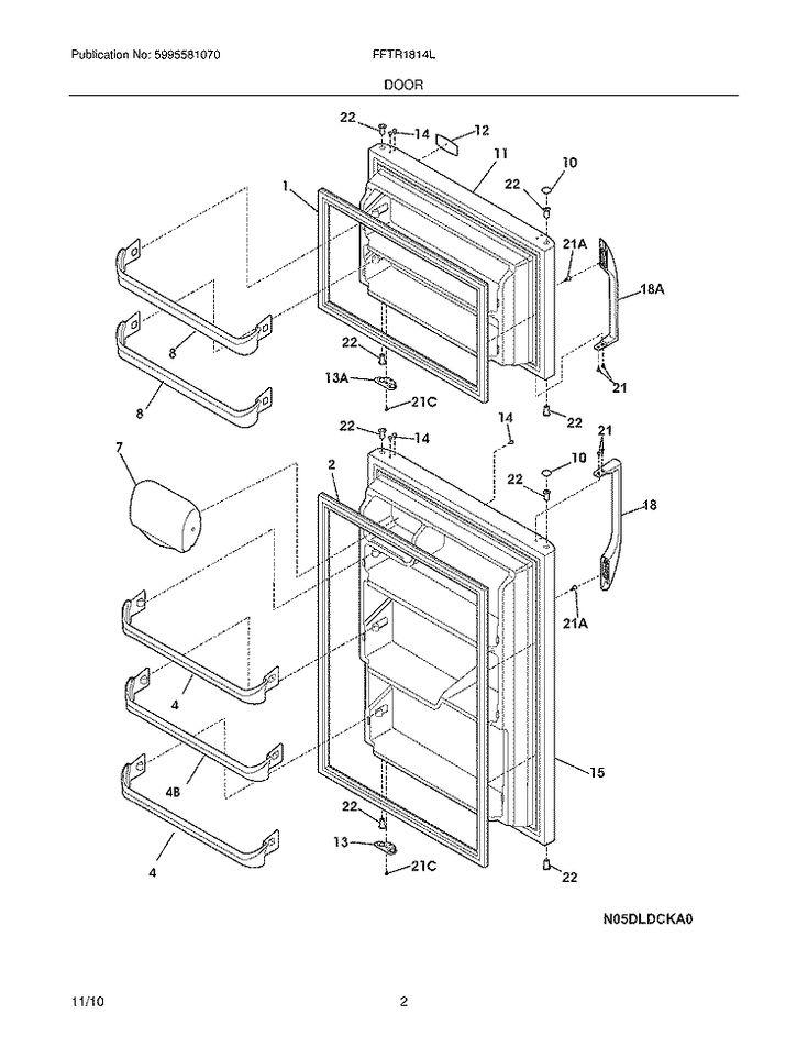 westinghouse side by side fridge manual