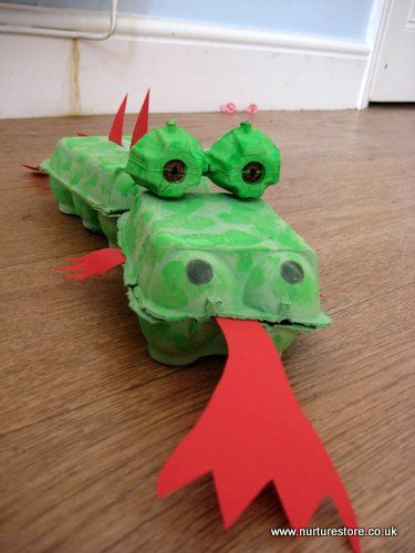 dragon craft ideas - red for st david's day