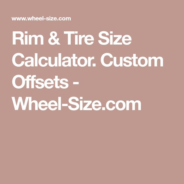 Best  Tire Size Calculator Ideas On   Tire Size