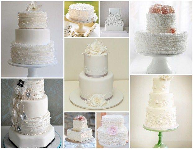 A Whole Bunch Of White On Cakes Cake Boss Weddingwedding
