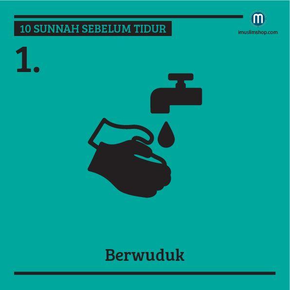 10 Sunnah Sebelum Tidur #Sebarkanmanfaat #PhotoViral #Imuslimshop #SunnahSebelumTidur