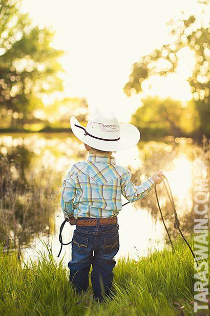 adorable cowboy shoot
