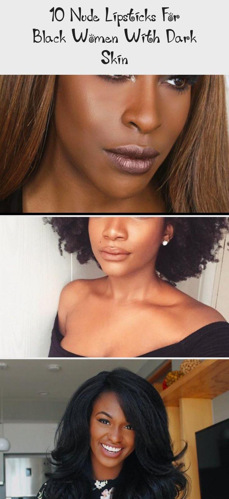 10 Nude Lipsticks for Black Women with Dark Skin - BGLH