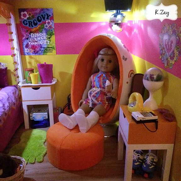 American Girl Doll Bedroom: 14 Best Images About American Girl Julie's Bedroom Doll