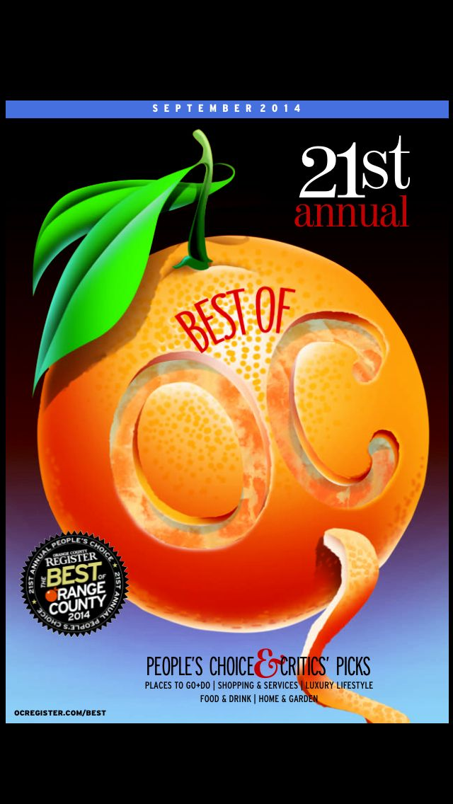 Thanks OC for voting us 'Best Cosmetic Surgeon' again in Best of OC 2014!