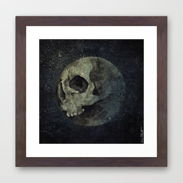 """Wrong Half Of The Moon"" framed print at @society6 • https://society6.com/product/wrong-half-of-the-moon_framed-print#12=63&13=55 • #art #arte #prints #stampe #fineartprint #fineart #skull #teschi #moon #luna #horror #scary #macabre #dark #illustration #illustrazione #society6 #gicleé #gicleeprint #framedprint  #cornici #abstract #astratto #wallart #walldecor #arredamento #arredo #poster #kissmyart #acryl #acrilic #painting #dipinto #quadro #walnutframe #artprint #artprints"