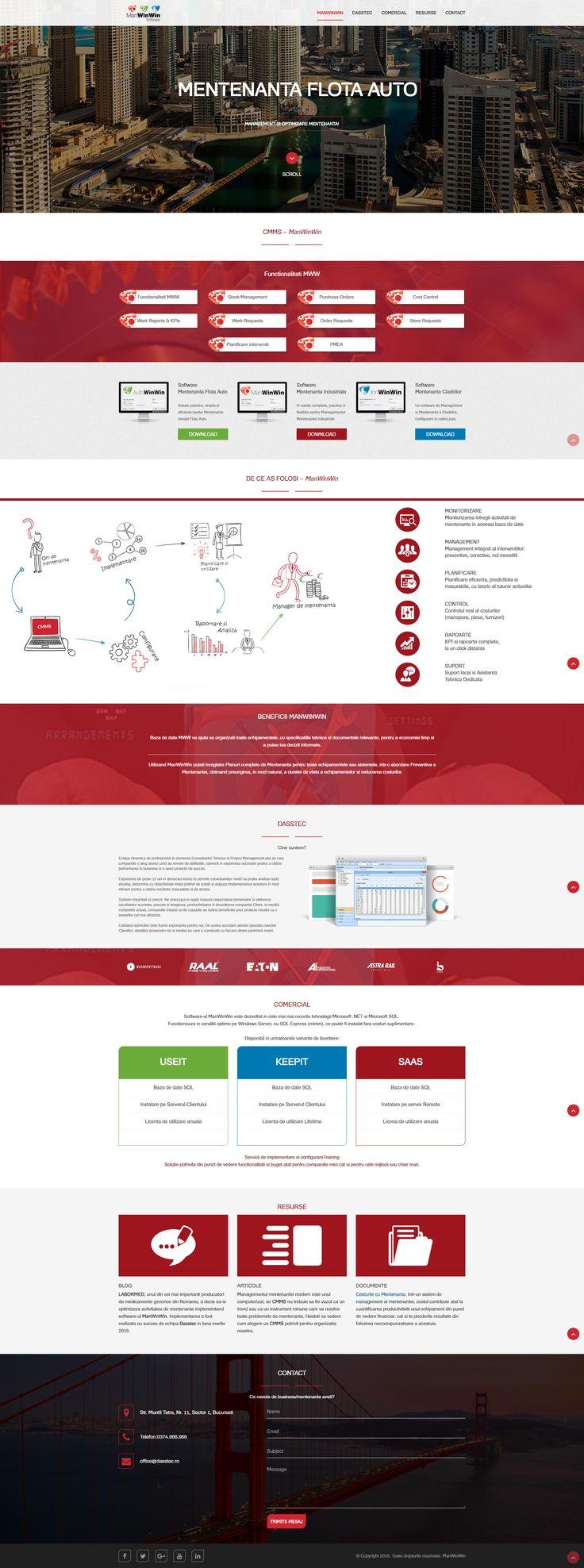 website design - cmms