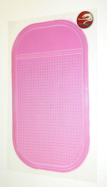 Pink Anti-Slip Pad - Car Truck Gel Magic Mat for iPhone Android Cell Keys Change
