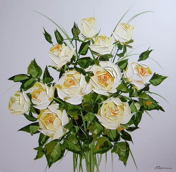 Lyudmila Scripcenco - Buchet de trandafiri