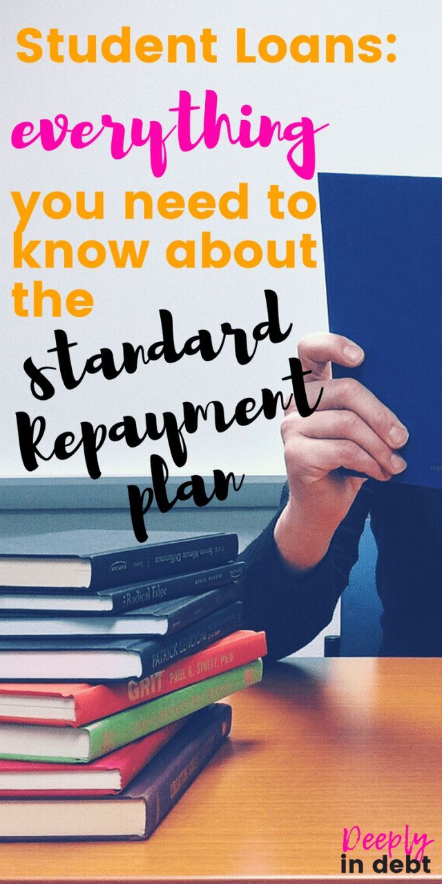 EVERYTHING YOU NEED TO KNOW ABOUT THE STANDARD STUDENT LOAN REPAYMENT PLAN