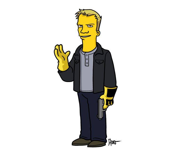 Todd from Breaking Bad | Simpsonized