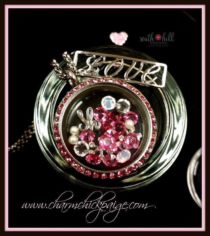 oh all the Love, whether it be jewelry, glitter or pink! <3 www.southhilldesigns.com/atriest