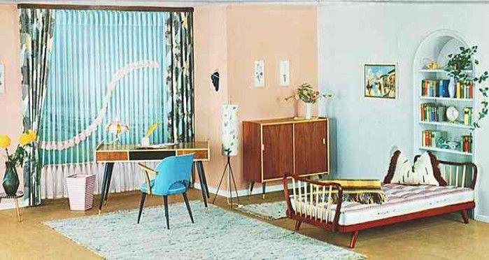 Möbel 50er Jahre / Schwarze Beine 50er jahremöbel, Wohnen