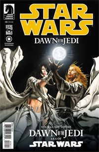 """Star Wars: Dawn Of The Jedi #0  """"Your Guide to the Dawn Of The Jedi era of Star Wars: It is an era of legend, an era before the discovery of hyperspace travel, before the foundation of the Old Republic, and before the philosophies of the Jedi and the Sith were codified. This is a tale of a great and mythic society, established and nurtured by powers unthinkably ancient and mysterious, on a collision course with an empire founded on darkness and death. These are the true roots of both the…"""
