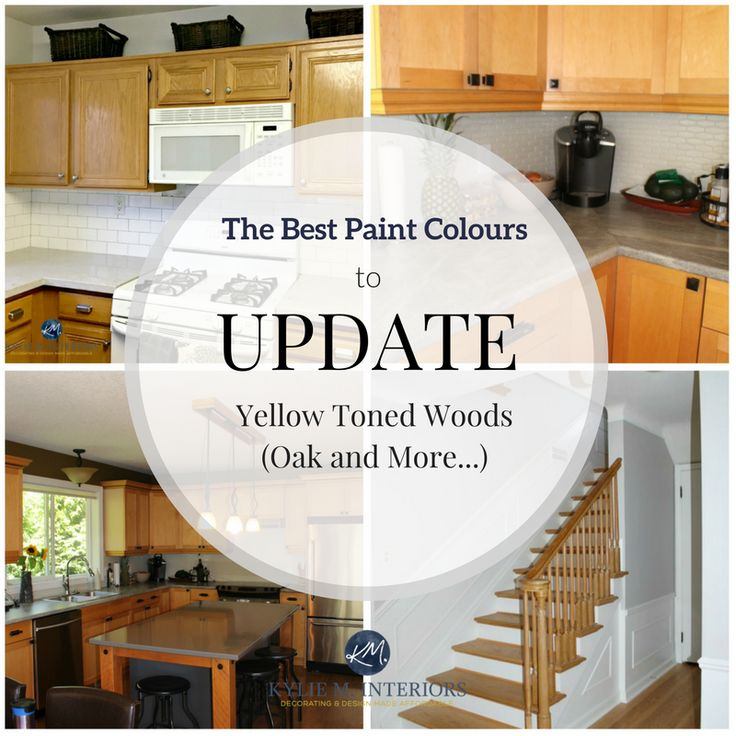 Best Kitchen Paint Colors With Oak Cabinets: The Best Paint Colours To Go With Oak (or Wood)
