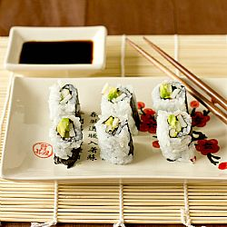 How to Make Sushi at Home: Sushi Rice & The California Roll | Brown Eyed Baker