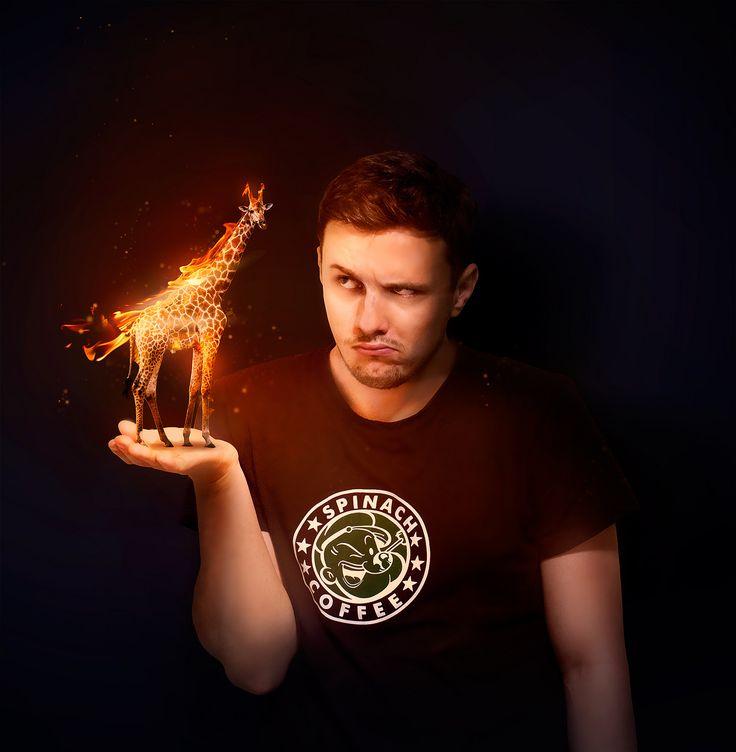 https://flic.kr/p/Hr8KcG | Day 5/365 - Fire giraffe | Kind of late today.