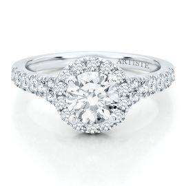 The Artiste Blissful Engagement Ring by Scott Kay in 14K Gold - Mountings - Engagement & Wedding - Helzberg Diamonds