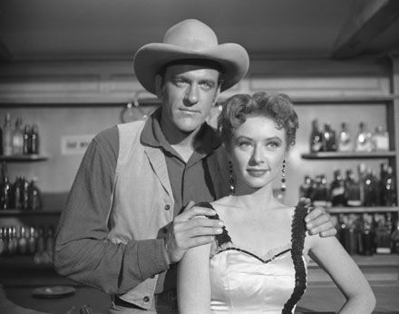 Gunsmoke Pictures & Photos - Gunsmoke - JAMES ARNESS AND AMANDA BLAKE