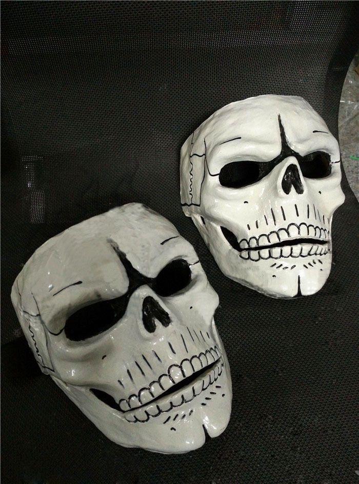 FRP Skull Skeleton Full Face Mask Cosplay Props For James Bond 007:Spectre  #Unbranded #cosplay #cosplay