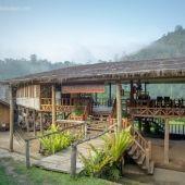 Award Winning Hilltribe & Eco Resort, Chiang Mai Thailand | เที่ยววัดจันทร์ ที่พักวัดจันทร์ - Karen Hilltribe Lodge