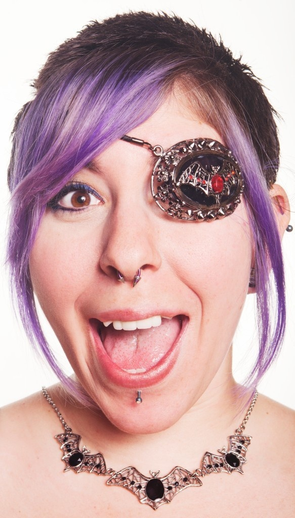 Rhinestone Bat Eyepatch Pirate Punk Gothic Lolita Vampire Rave Steampunk NEW | eBay