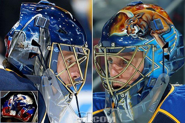 Jaroslav Halak's 2011-12 St. Louis Blues Goalie Mask