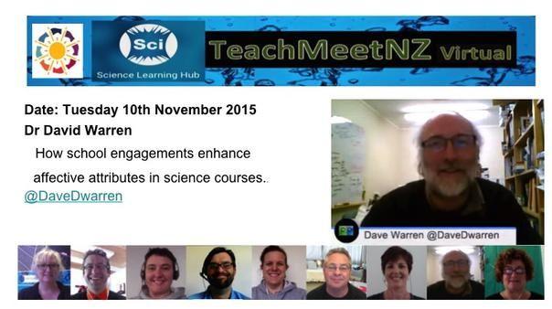 TeachMeetNZ - Warren_Dave