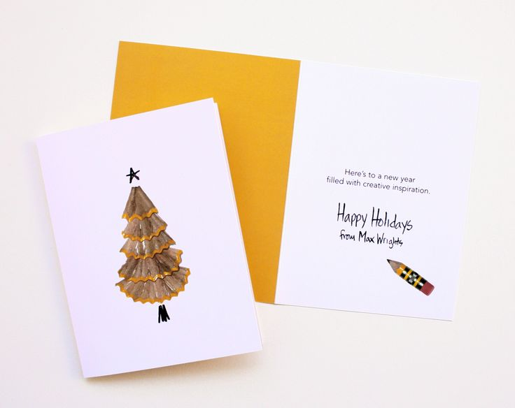 Max Wrights Holiday Card, designed by MasonBaronet