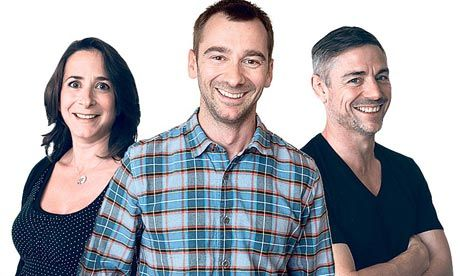 Charlie Condou's weekly column, two dads, one mum, one family.