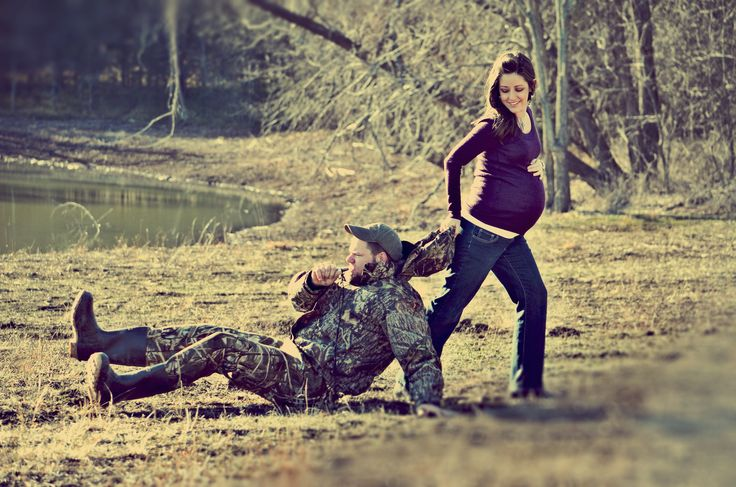 I guess seasons over. He called in a baby. Country couple pictures. Haha